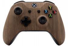 Wooden Grain Xbox One S Custom UN-MODDED Controller Unique Exclusive Design