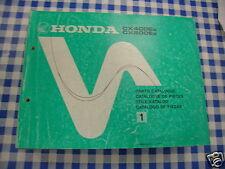BB 13MC5C41 Catalogo Parti di Ricambio HONDA CX 400 500 E Ediz. 1982