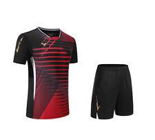 2020 New victor men's sport Tops tennis/Table tennis clothes set T shirts+shorts