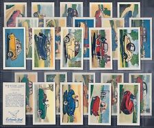 EWBANKS-FULL SET- MINIATURE CARS AND SCOOTERS (25 CARDS) - EXC+++