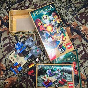 Lego Heroics Draida #3857 Pre-owned Complete  with Box Instructions