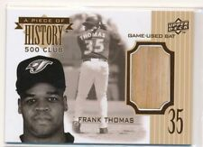 FRANK THOMAS 2008 Upper Deck A Piece of History 500 CLUB BAT WHITE SOX HOF 02