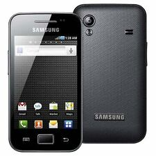 Genuine Samsung Galaxy ACE S5830 Black Battery Door Back Cover