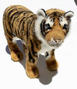 FAO Schwarz Geoffrey Bengal Tiger Large Giant Sit On Standing Plush 2012 Toysrus