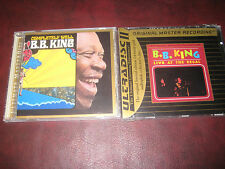 B.B. KING Live At Regal MFSL 24 KARAT GOLD LIMITED RARE CD + MCA COMPLETELY WELL