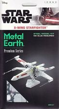 Star Wars X-Wing Starfighter Collectable Fascinations Metal Earth ICX132