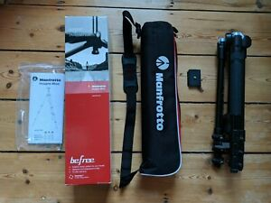 Manfrotto Befree Tripod with Ball Head - Black (MKBFRA4-BH)