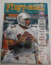 First & Goal Magazine Dan Marino & Bryce Paup October 1996 071015R2