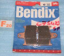 2 plaquettes de frein Arr. Bendix Suzuki GSXR 600 750 1000 GSX 1400 BANDIT 650