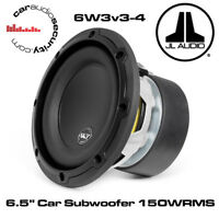 "JL Audio - JL 6W3v3-4  - 6.5"" Car Subwoofer 4 Ohm Car Sub Subwoofer 150W RMS"