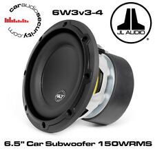 "JL Audio - JL 6W3v3-4  - 6.5"" Car Subwoofer 4 Ohm Car Sub Subwoofer 150W RMS"