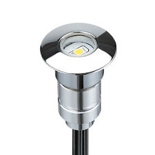 1Pcs12V Outdoor Stairs Yard Patio Path LED Inground Deck Step Lights warm white