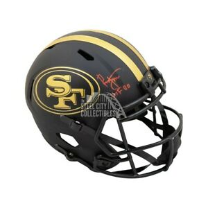 Ronnie Lott HOF 00 Autographed 49ers Eclipse Full-Size Football Helmet - BAS COA