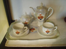 Delizioso tet a tet in porcellana Richard Ginori anni '30 - servizio tazze caffè