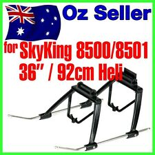 """Landing Skid Gear Sky King 8500 8501 36"""" 92cm BIG Helicopter Undercarriage 22"""