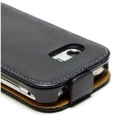 ETUI Samsung GT-S5300 Galaxy Pocket slim vertical cuir noir