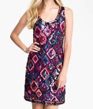Trina Turk Purple 'All Eyes On Me' Lantern Sequin Dress NWT Sz 12 $398