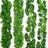 2M Artificial Greenery Ivy Vines Leaves Fake Plants Garland Hanging for Party