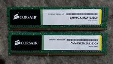 Corsair ValueSelect Dimm Kit 4GB, 2x2GB, DDR3 1333, PC3 10600, CMV4GX3M2A1333C9