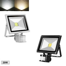 LED Fluter mit Bewegungsmelder 10W 30W 50W 100W Lampe Außen Strahler Flutlicht