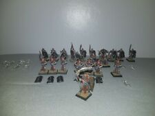 Warhammer Tomb Kings Tomb Guard Regimiento figuras de metal + tumba Rey Edad De Sigmar