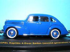 Opel Kapitan 2nd generation 4 door 1950 1:43rd scale New IXO Museum Series