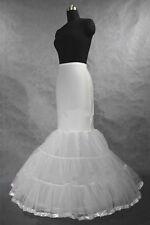 White A Line/mermaid hoop bridal Crinoline/Petticoat/Slips/Underskirt wedding HB