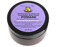Sunny Isle Jamaican Black Castor Oil Hair Food Pomade, Lavender 4 oz (Pack of 2)