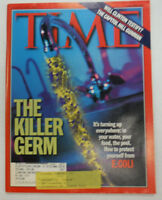 Time Magazine The Killer Germ E. Coli WITH ML August 1998 060315R
