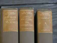 The English Comedie Humaine Series Collection of Three Antique Books 1903