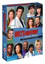 Grey's Anatomy - Season 3 DVD by Ellen Pompeo Isaiah Washington.