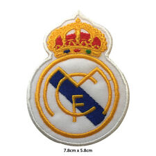 Real Madrid Foot Ball Club Embroidered Patch Iron on Sew On Badge