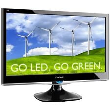 "ViewSonic VX2450 24"" Widescreen LED LCD Monitor With Speaker"