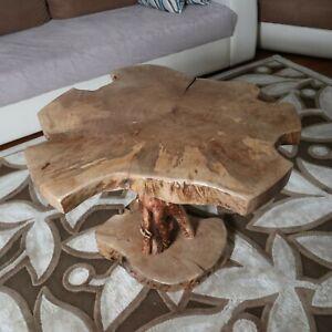 Live Edge Walnut Tree Root Amazing Naturally Form Wood Slice, Coffee Table 106