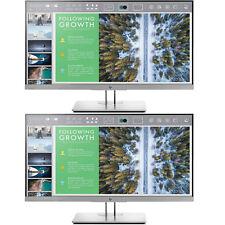 Hewlett Packard EliteDisplay 23.8-Inch Screen LED-Lit 2-Pack Monitor(1FH
