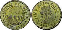 1851 Honduras 4 reales AU53 TOP POP central american republic costa rica PCGS