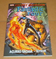 Secret Invasion Fantastic Four TPB 1st Print 1 2 3