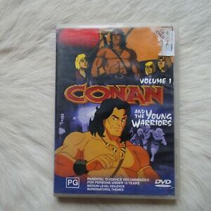 CONAN and The Young Warriors Vol.1 DVD Video Adventure FANTASY Children ACTION