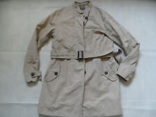 MARC O POLO linen cotton leichter Mantel ohne Kragen beige Gr. 42 TOP 618