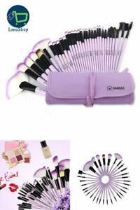 32 piezas Brochas de maquillaje profesional - kit brochas de maquillaje baratas