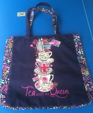 Accessorize 'Tea  With The Queen London Large Shopping Bag -NEW