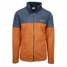 Columbia Men's Orange & Grey Basin Trail Full Zip Fleece Jacket (Retail $69) 820