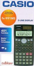 Casio FX-991MS Scientific Calculator 2 Line Display 12 Digits Fx991ms, FX 991 MS