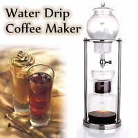 AU Water Drip Coffee Maker Dutch Brew Coffee Ice Cold Dripper 600ml 8 Cups Hot