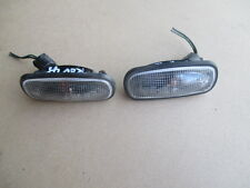 ROVER 45 FRONT CLEAR LENS SIDE / WING REPEATERS PAIR FROM 2002