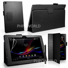"""New PU Leather Stand Case Cover For Sony Xperia Z 10.1"""" Tablet 1st Generation"""