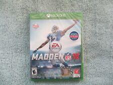 Madden NFL 16 (Microsoft Xbox One, 2015) Brand New Factory Sealed