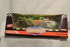 ERTL American Muscle NASCAR 1/18 Scale #18 Dale Jarrett Interstate Batteries Car