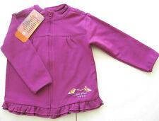Sweat Jacke Gr.80 Staccato NEU lila vogel warm volants baby