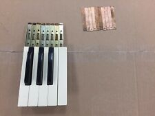 (1) Complete 1/2 Octave w/High C CONN Organ Keys Fits Many Different Models